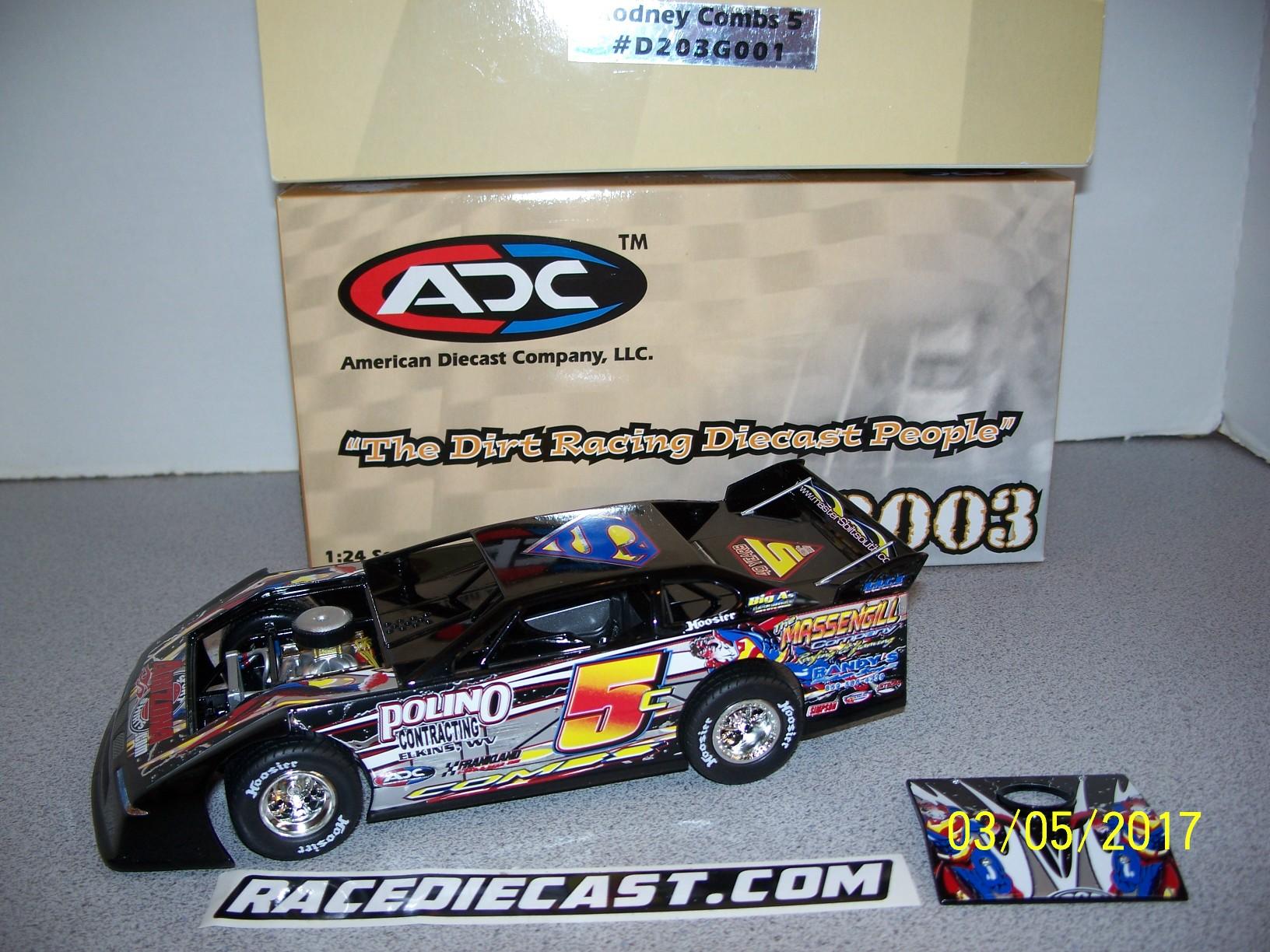 1//64 Paducah Raceway Ken Schrader Dirt Late Model 21