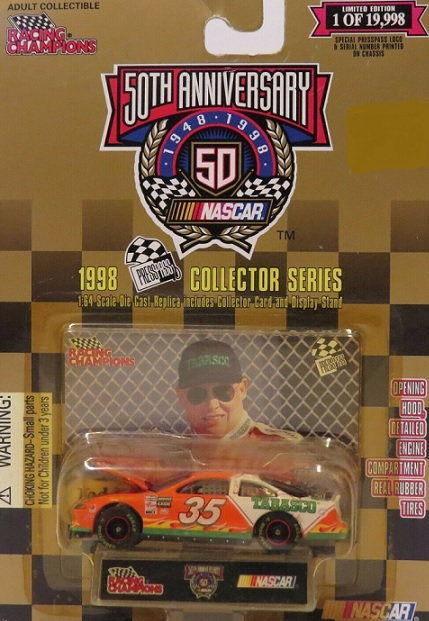 Racing Champions 1:64 NASCAR 1998 Press Pass Series #35 Todd Bodine
