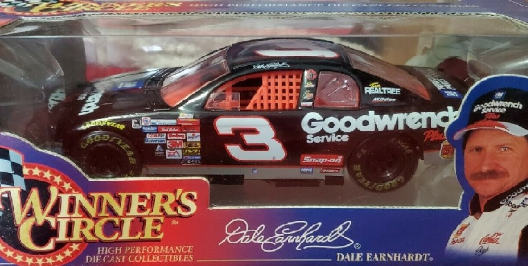 Winners Circle NASCAR Dale Earnhardt Sr #3 Car Magnet 8